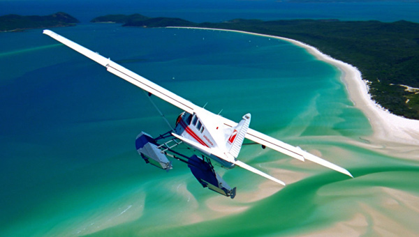 Reef & Whitehaven Scenic Flight – 1 Hour Flight
